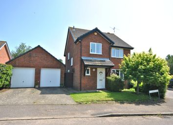 Thumbnail 4 bed detached house for sale in Cuthbert Close, North Wootton, King's Lynn