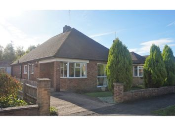 Thumbnail 2 bedroom detached bungalow for sale in Latham Avenue, Peterborough