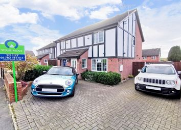 Thumbnail 3 bed semi-detached house to rent in Forrister Street, Meir Hay, Stoke-On-Trent