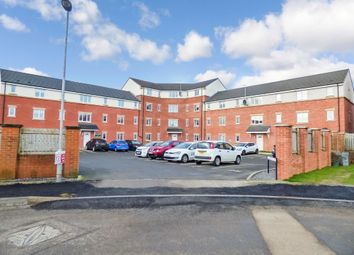 Thumbnail 2 bedroom flat for sale in Acklington Court, Ashington