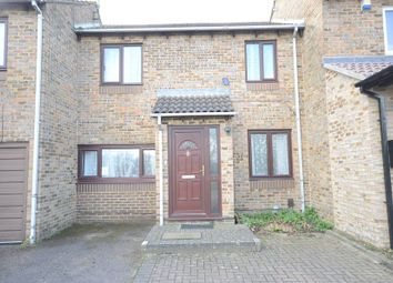 Thumbnail 2 bed terraced house to rent in Hawkedon Way, Lower Earley, Reading