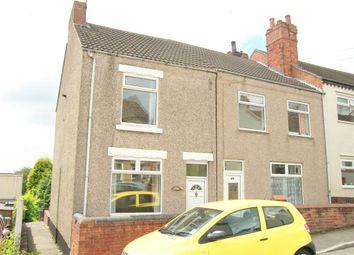 Thumbnail 2 bed end terrace house to rent in Hardwick Street, Tibshelf, Alfreton
