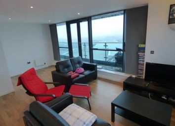 Thumbnail 2 bed flat to rent in Bridgewater Place, 1 Water Ln, Leeds