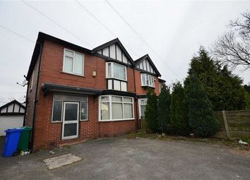 Thumbnail 5 bedroom semi-detached house to rent in Birchfield Road, Fallowfield, Manchester