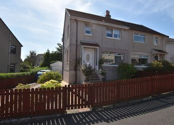 Thumbnail 3 bedroom semi-detached house for sale in St. Brides Avenue, Uddingston, Glasgow