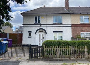 Thumbnail 3 bed semi-detached house for sale in Lowerson Crescent, Norris Green, Liverpool