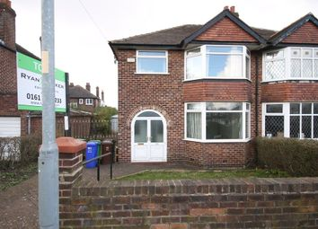 Thumbnail 3 bed semi-detached house to rent in Withigton Road, Chorlton