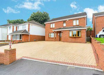 Thumbnail 4 bed detached house for sale in Bryngelli Park, Treboeth, Swansea, West Glamorgan