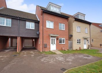 Thumbnail 4 bed link-detached house for sale in Charlock Road, Thetford