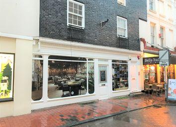 Thumbnail Retail premises to let in Ground Floor & Basement, 23 Market Street, Brighton