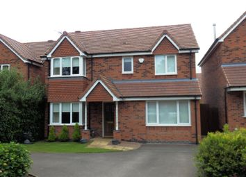Thumbnail 4 bed detached house for sale in Grove Fields, Weddington Road, Nuneaton