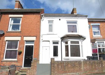 Thumbnail 3 bed terraced house for sale in Harborough Road, Rushden