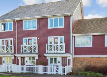 Thumbnail 3 bed town house for sale in Poynder Drive, Snodland, Kent