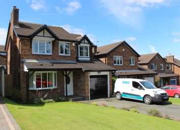 Thumbnail 4 bed detached house for sale in Riverbank Way, Shirebrook Park, Derbyshire