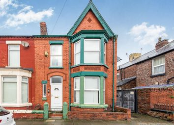 Thumbnail 4 bedroom end terrace house for sale in Mossley Avenue, Mossley Hill, Liverpool