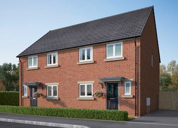 """Thumbnail 3 bedroom semi-detached house for sale in """"The Eveleigh"""" at Cautley Drive, Killinghall, Harrogate"""