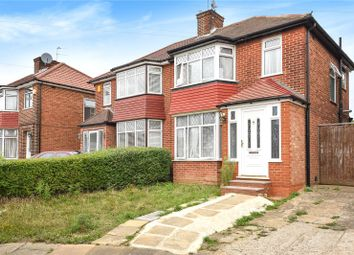 Thumbnail 3 bed semi-detached house for sale in Lamorna Grove, Stanmore, Middlesex