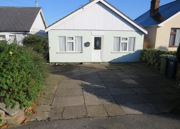Thumbnail 2 bed bungalow to rent in Wisbech Road, March