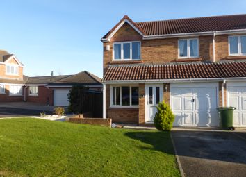 Thumbnail 3 bedroom semi-detached house for sale in Nuthatch Close, Hartlepool