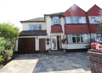 Thumbnail 4 bedroom semi-detached house for sale in Park Hill Close, Carshalton