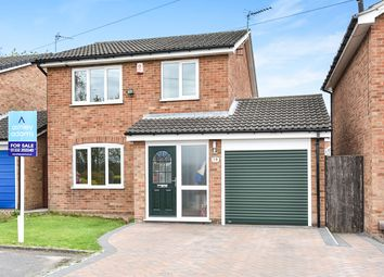 Thumbnail 3 bed detached house for sale in Lychgate Close, Oakwood, Derby