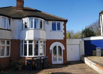 Thumbnail 3 bedroom semi-detached house for sale in Dunvegan Road, Erdington, Birmingham