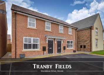 Thumbnail 3 bed semi-detached house to rent in Stockdove Drive, Jenny Brough Lane, Hessle