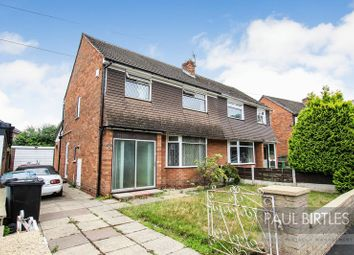 Thumbnail 3 bed semi-detached house for sale in Coberley Avenue, Davyhulme, Manchester