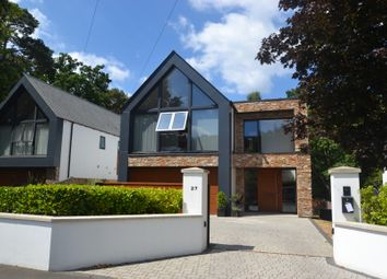 Thumbnail 4 bed detached house for sale in Lakeside Road, Branksome Park