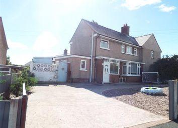 Thumbnail 2 bed semi-detached house for sale in Ffordd Ddyfrdwy, Mostyn, Holywell, Flintshire