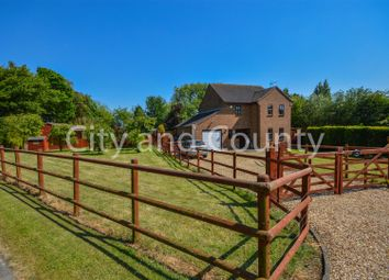 Thumbnail 3 bed detached house for sale in Dowsdale Bank, Whaplode Drove, Spalding
