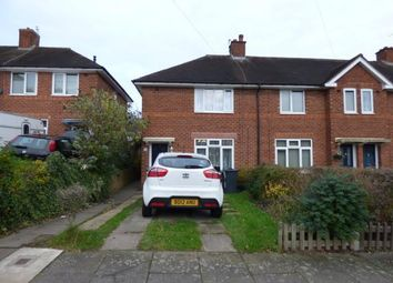 Thumbnail 3 bedroom end terrace house for sale in Oakcroft Road, Billesley, Birmingham, West Midlands