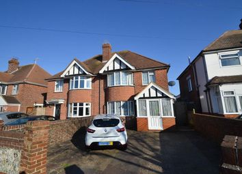 Thumbnail 3 bed semi-detached house for sale in Kinfauns Avenue, Eastbourne