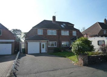Thumbnail 3 bed semi-detached house to rent in Maxstoke Croft, Shirley, Solihull