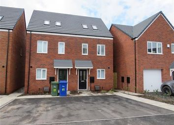 Thumbnail 3 bed semi-detached house to rent in Winding House Drive, Hednesford, Cannock