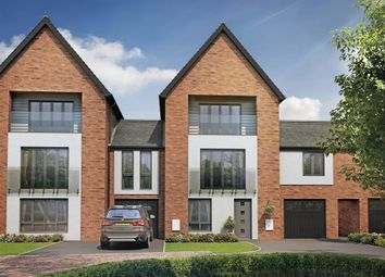 "Thumbnail 5 bedroom town house for sale in ""The Willow"" at Berrington Road, London Road, Hampton"