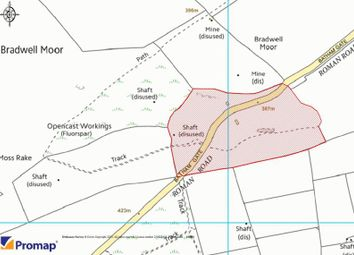 Thumbnail Land for sale in Moss Rakes Works, Bradwell Moor, Derbyshire