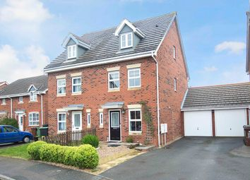 Thumbnail 3 bed town house for sale in Buttercup Close, Corby