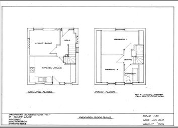 Thumbnail 2 bed detached house for sale in Platt Lane, Whixall, Whitchurch