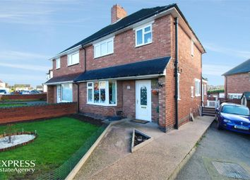 Thumbnail 4 bed semi-detached house for sale in Parkfield Crescent, Tamworth, Staffordshire