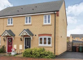 Thumbnail 3 bed semi-detached house to rent in Lucina Drive, Stanground, Peterborough