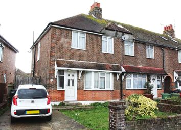 Thumbnail 2 bed end terrace house for sale in Queens Crescent, Eastbourne