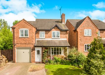 Thumbnail 4 bed detached house for sale in Meadow View, Doveridge, Ashbourne