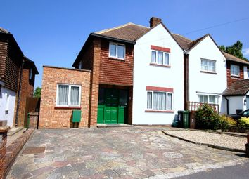 Thumbnail 3 bed semi-detached house for sale in Cedar Close, Bagshot