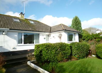 Thumbnail 3 bed semi-detached bungalow for sale in Lower Gurnick Road, Newlyn, Penzance