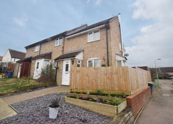 Thumbnail 3 bed end terrace house for sale in Smock Meadow, Bildeston, Ipswich