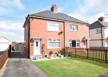 Thumbnail 3 bedroom semi-detached house for sale in Butterwick Road, Messingham, Scunthorpe