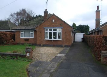 Thumbnail 3 bed bungalow to rent in Oakridge Close, Stafford