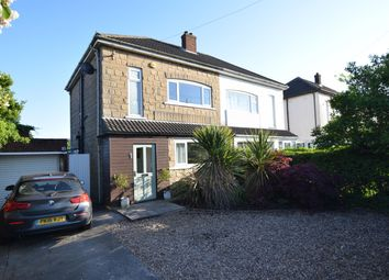 Thumbnail 3 bed semi-detached house for sale in Moorwell Road, Bottesford