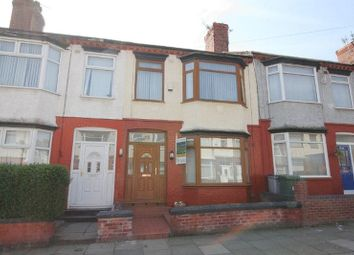 Thumbnail 3 bed terraced house for sale in Southdale Road, Tranmere, Wirral